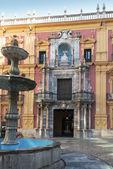 Plaza del Obispo, Malaga,Spain — Stock Photo