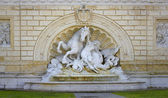 Fountain in Bologna. Fountain with horse. — Stock Photo