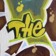 Stock Photo:  the-graffiti