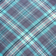 Blue, grey and white tablecloth background — Stock Photo