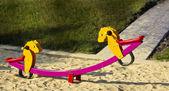 Cradle horses. — Stock Photo