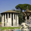 Stock Photo: Temple of Vest- Rome