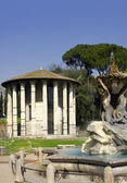 Temple of Vesta - Rome  — Stock Photo