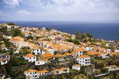 город фуншал на острове мадейра, португалия — Стоковое фото