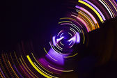 Abstract fairy lights — Stock Photo