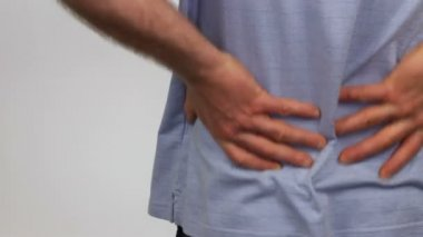 Massaging the Back Pain Away — Stock Video