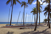 Outrigger Canoe Rentals Fort Lauderdale Beach — Stock Photo