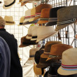 Hats for Sale at Saturday Market — Stock Photo