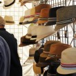 Hats for Sale at Saturday Market - Stock Photo