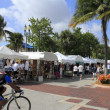 Lauderdale by the Sea, Florida, Craft Festival — Stock Photo