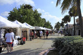 Lauderdale By the Sea, Florida Craft Festival — Stock Photo