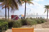 Lauderdale dia de outono, à beira-mar, florida — Foto Stock