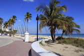 Fort Lauderdale Beach Park Looking North — Stock Photo