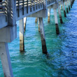 Below a Pier - Stock Photo