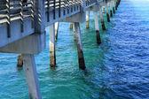 Below a Pier — Stock Photo
