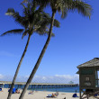 Stock Photo: Deerfield Beach Scenic Oceanfront