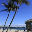 Deerfield Beach Scenic Oceanfront — Stock Photo