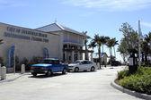 Cafe and Pier at Deerfield Beach — Zdjęcie stockowe