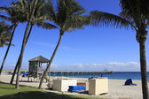 Deerfield Beach Lifeguard Tower 2 — Stock Photo