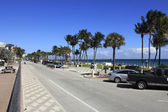 Busy Deerfield Beach — ストック写真