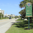 Boca Raton, FL Welcome Sign — Stock Photo
