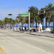 SE 5th St at SR A1A — Stock Photo