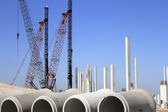 Construction at Fort Lauderdale Airport — Stock Photo