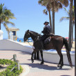 Mounted Police Office on the Coast — Stock Photo #39260647