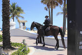 Mounted Police Office on the Coast — Stock Photo