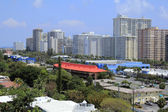 Fort Lauderdale Coast Skyline — Stock Photo