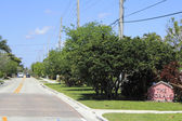 The Corals Neighborhood Sign — Stock Photo