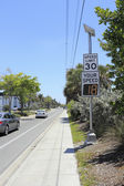 Radar Speed Display Sign — Stock Photo