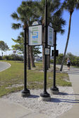 Recreational Trail Sarasota — Stock Photo