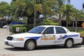 Wilton Manors Police Car — Stock Photo