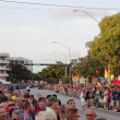 Foto de Stock  : People Waiting for Pride Parade