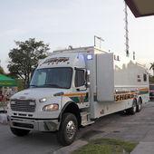 Mobile Command Truck — Stock Photo