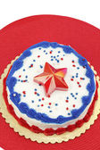 Independence Day Cake — Stock Photo