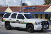 K-9 Unit Broward County Sheriff  — Stock Photo