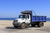 Parks and Recreation Dump Truck — Stock Photo