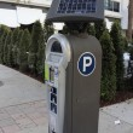 Solar Parking Meter — Stock Photo #44037913