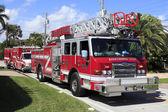 Fire Truck and Two Ambulances — Foto de Stock
