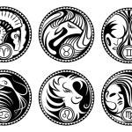Постер, плакат: Zodiac symbols