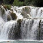 Wide waterfall — Stock Photo