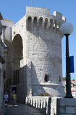 Tower in Korchula — Stock Photo