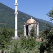 Minaret and mosque - Foto Stock