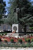Monument in Cetinje — Stock Photo