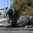 Bronze lion — Stock Photo #12755719