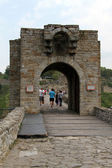 Entrance of fortress — Stock Photo