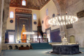 Inside Yeshil mosque — Stock Photo