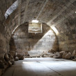 Basement under Zeus temple — Stock Photo